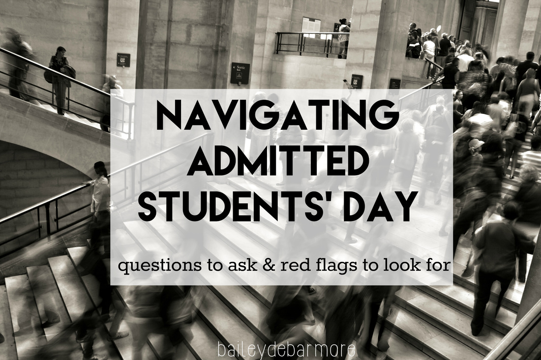 Navigating Admitted Students Day | Bailey DeBarmore