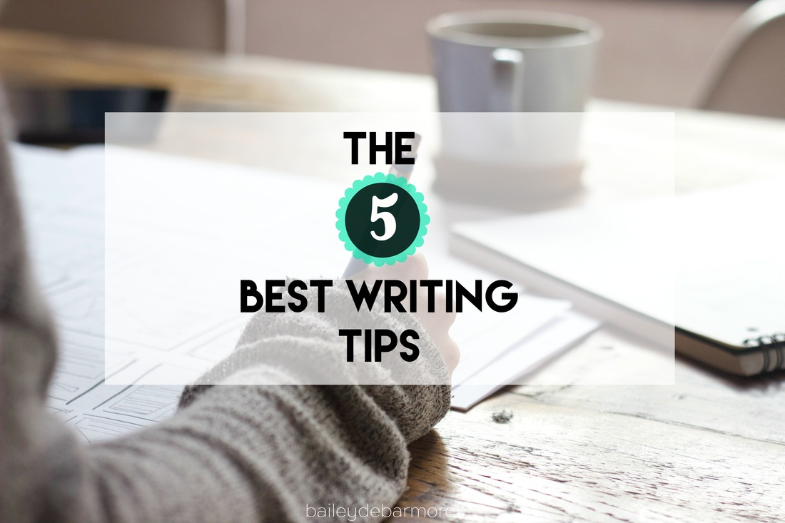 The 5 Best Writing Tips for Grad Students from Bailey DeBarmore