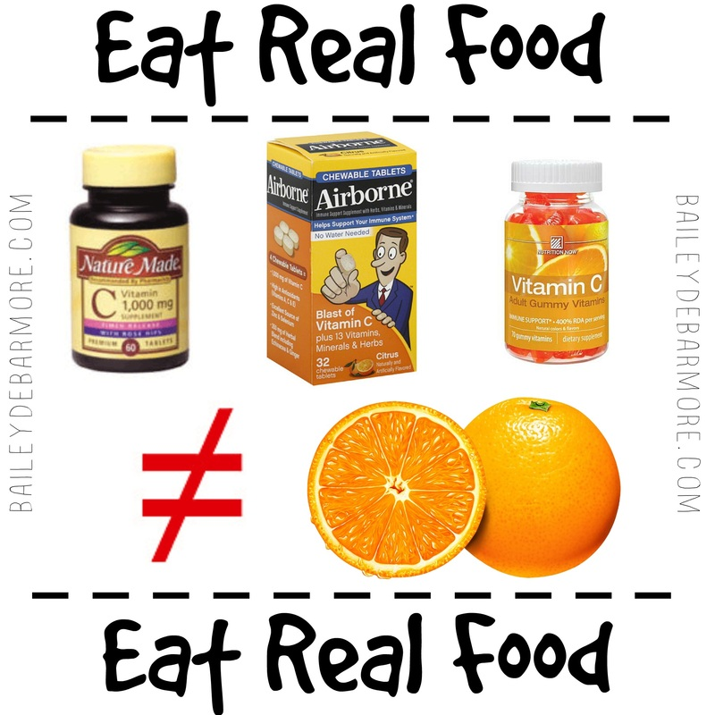 Eat Real Food  |   Should you take a multivitamin?   |   Bailey DeBarmore