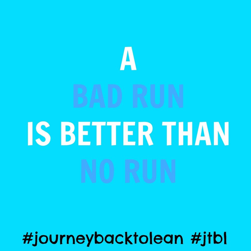 A Bad Run is better than NO RUN | #jtbl