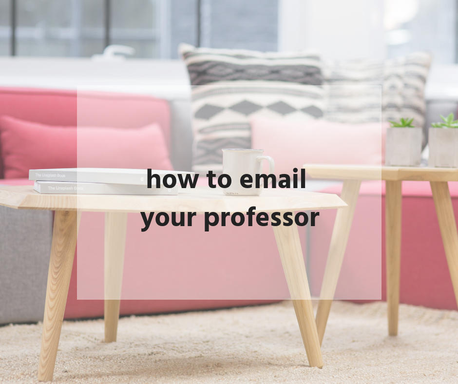 How to email your professor without wasting their time | Bailey DeBarmore