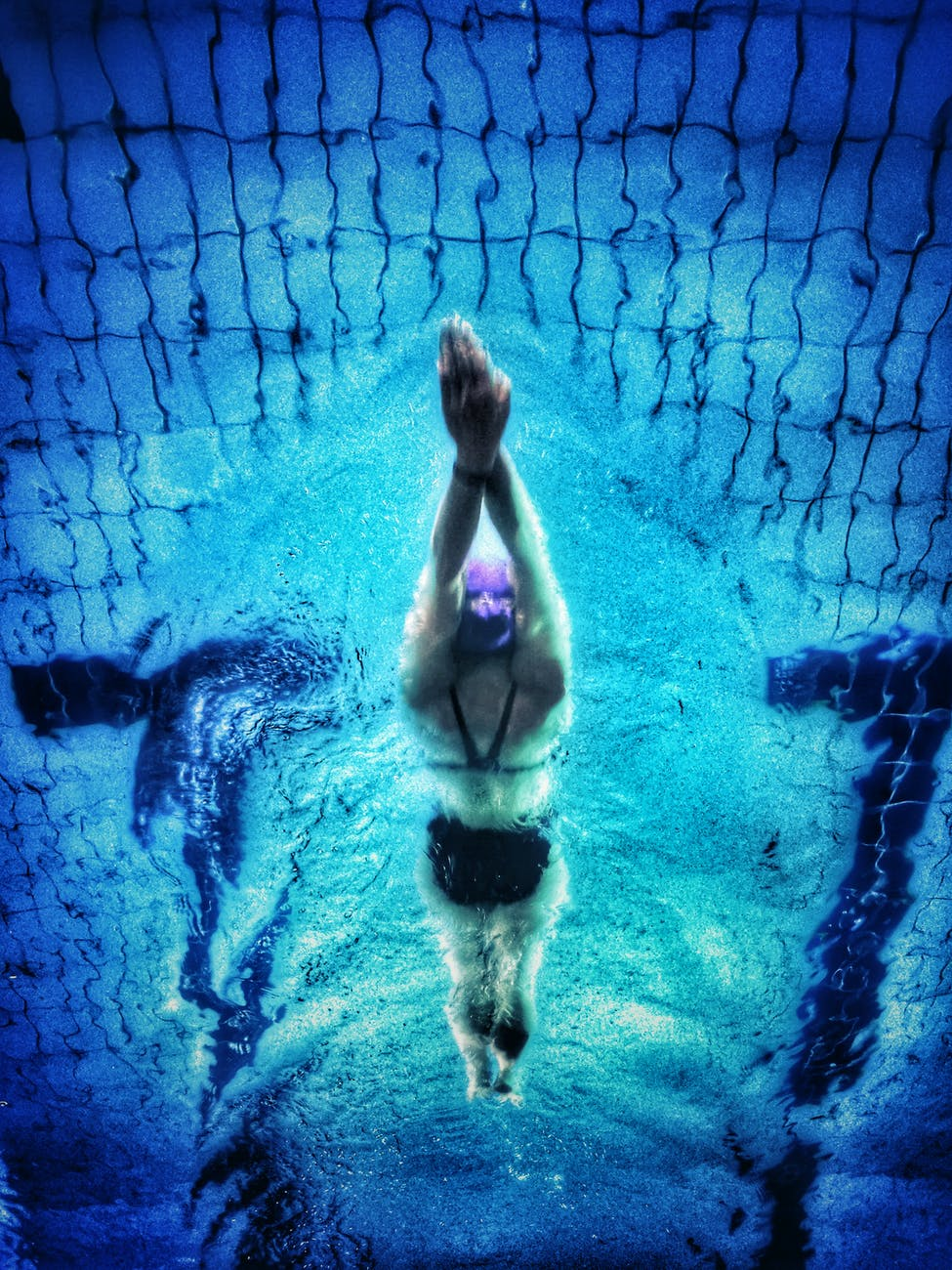 Swimming for core strength