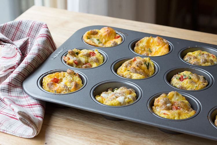 Easy Egg Muffins from Make-Ahead Meal Mom