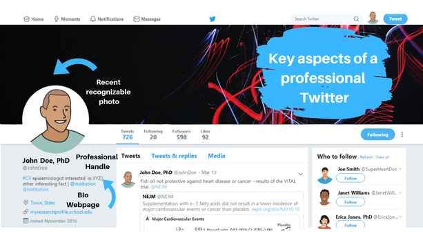 Key aspects of a professional Twitter | Bailey DeBarmore