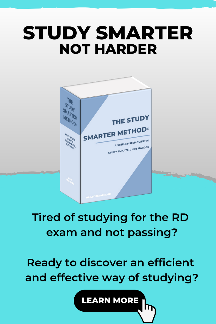 Study Smarter for the RD Exam